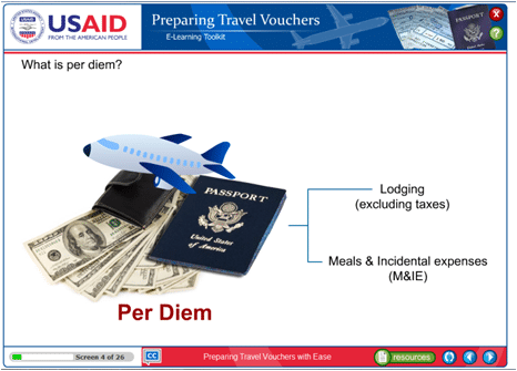 USAID, Afghanistan Pre-Departure Training Administration, e-Learning