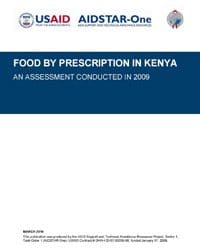 Food by Prescription in Kenya