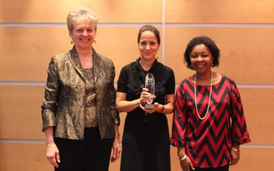 UN Secretariat Honored with ICF Prism Award