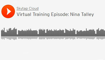 """""""Baking Quality into Virtual Training"""" with Nina Talley"""
