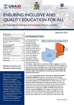 Ensuring Inclusive and Quality Education for All