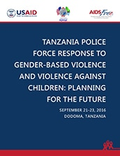 Report on Meeting with Tanzania Police on Gender and Children's Desks' Action Plan