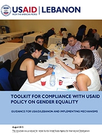 USAID/Lebanon Gender Compliance Toolkit