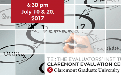 The Evaluators' Institute (TEI) July Session Features Two Free Panels for Evaluators