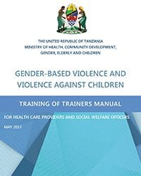 GBV and VAC Training of Trainers Manual for Health Care Providers and Social Welfare Officers