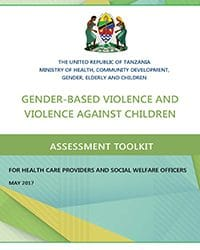 GBV and VAC Toolkit for Health Care Providers and Social Welfare Officers