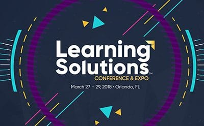 Demonstrating Virtual Learning Expertise at the Learning Solutions Conference