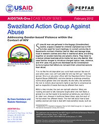 GBV and HIV Case Study: Swaziland Action Group Against Abuse