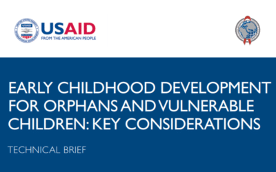 Early Childhood Development for Orphans and Vulnerable Children