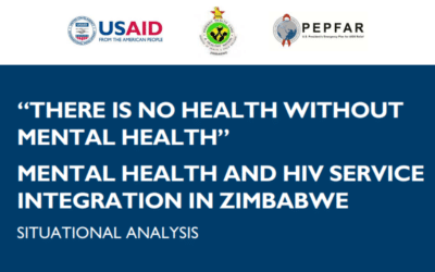 Situational Analysis: Mental Health and HIV Service Integration in Zimbabwe
