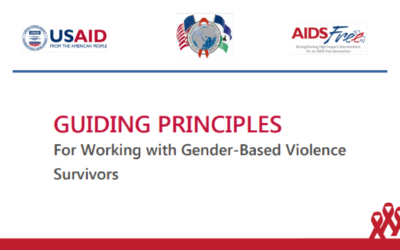 Guiding Principles For Working with Gender-Based Violence Survivors