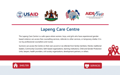 AIDSFree Flyer for Lapeng Care Centre