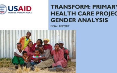 Transform: Primary Health Care Project Gender Analysis
