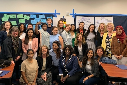 Group shot: Women in Politics and Civil Society training