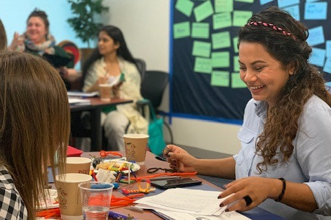 Appreciative Interviews at Women in Politics and Civil Society training
