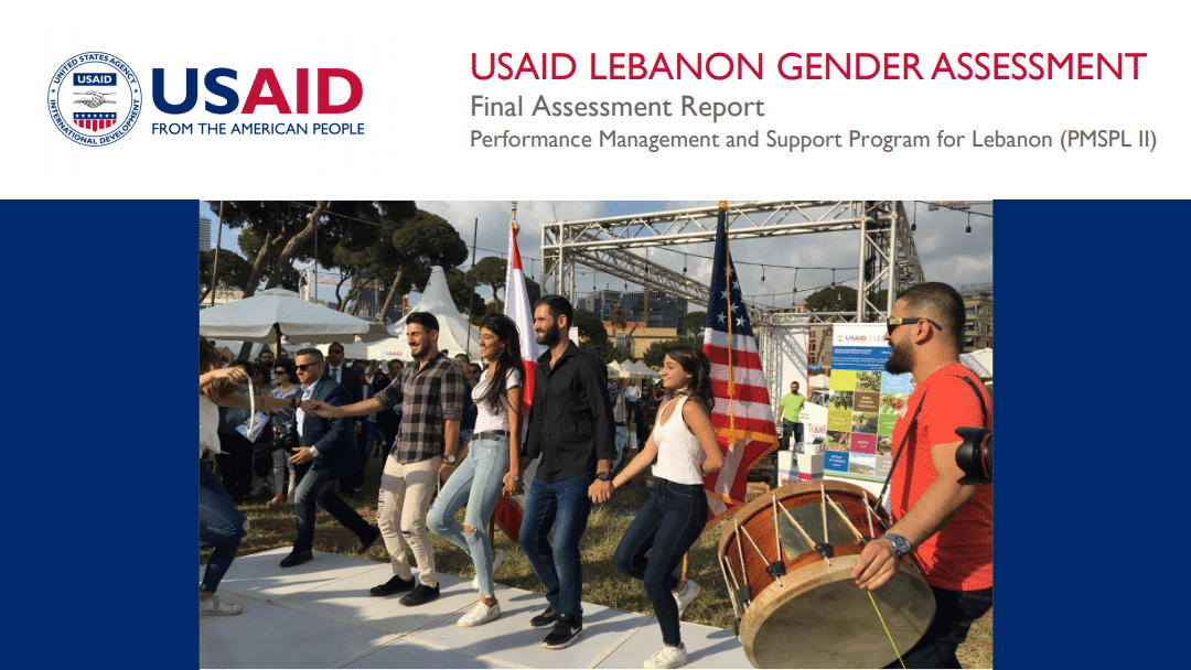 USAID/Lebanon Gender Assessment