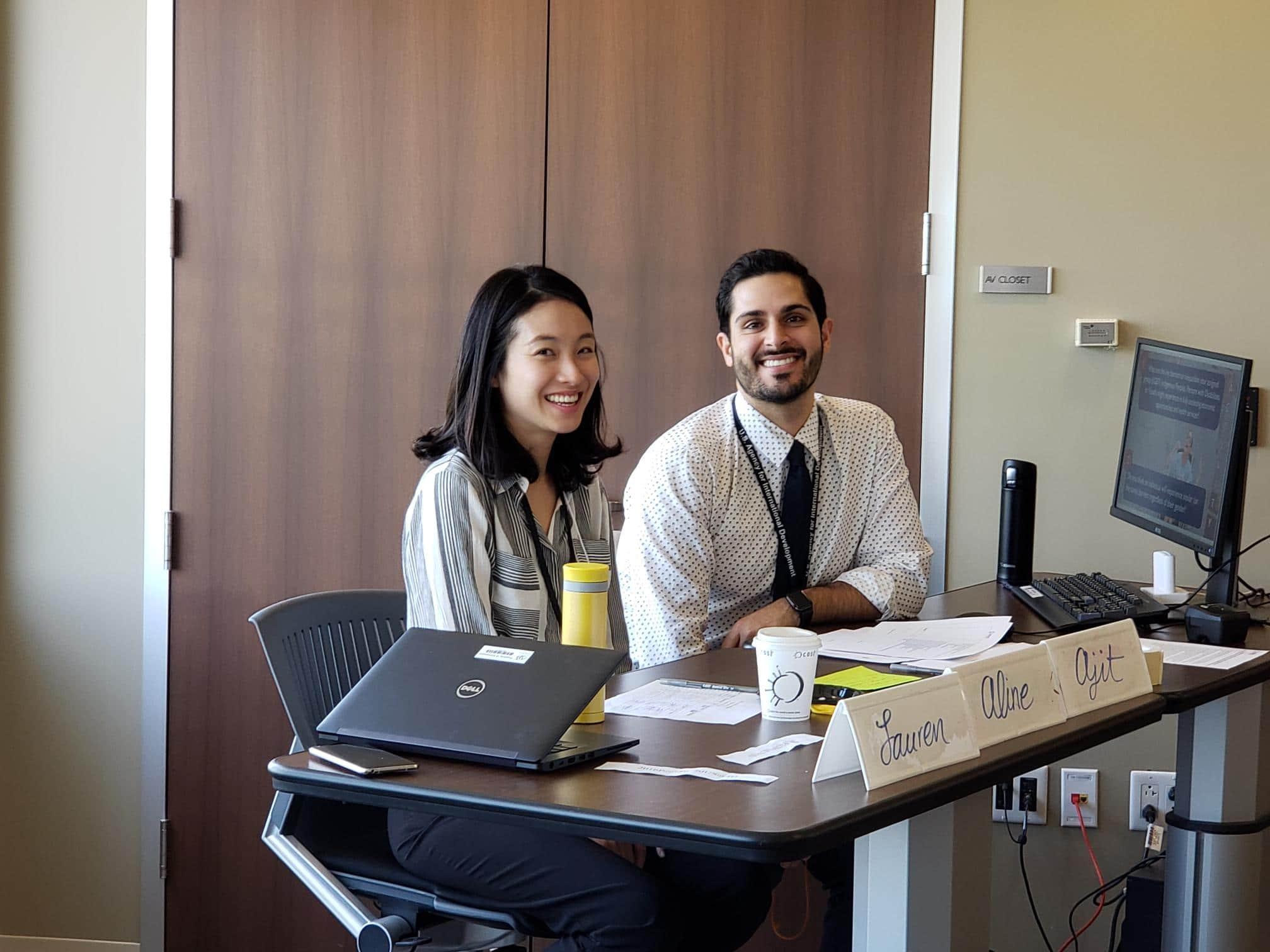 Soojin and Ryan at ID Training May 2019