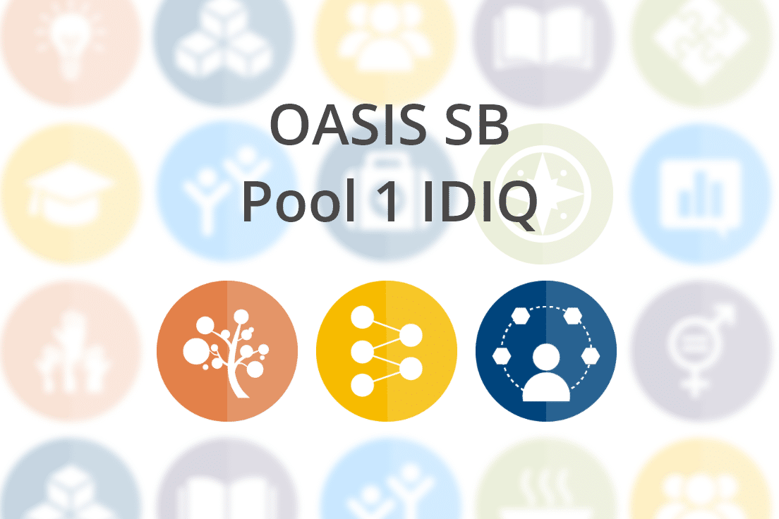 OASIS SB Pool 1 IDIQ: Management Consulting, Scientific, and Technical Services