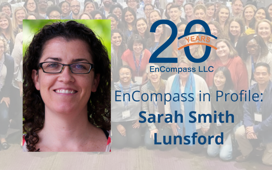 EnCompass in Profile: Sarah Smith Lunsford on the Value of Evaluation for Global Health