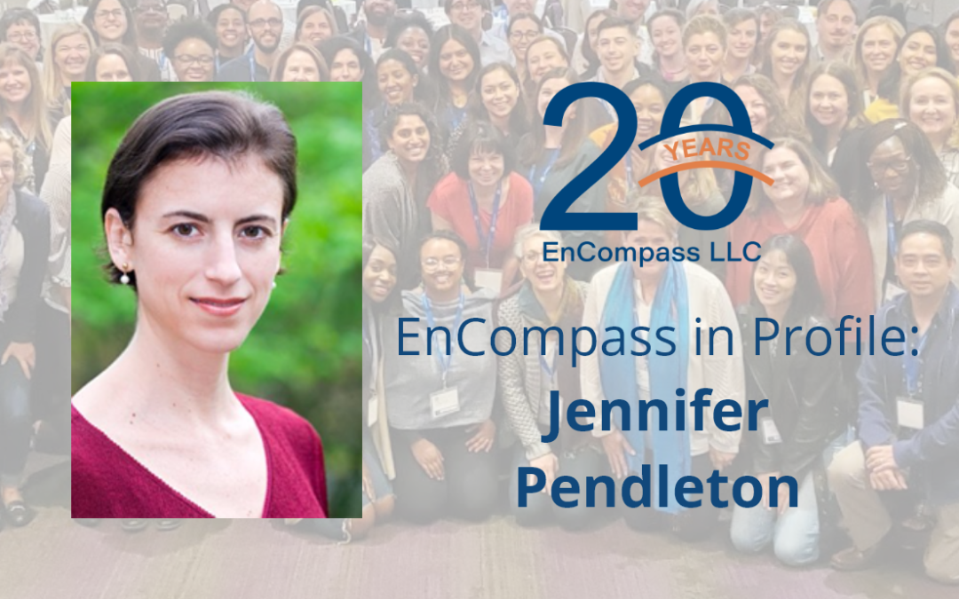 EnCompass in Profile: Jennifer Pendleton on Health, Human Rights, and Essential Connectedness