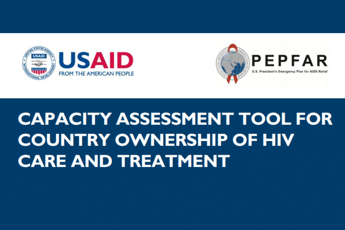Capacity Assessment Tool for Country Ownership of HIV Care and Treatment