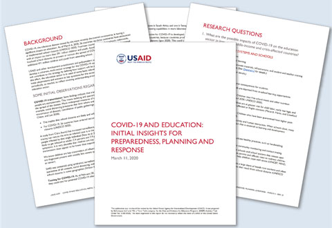 EnCompass Supports Data and Evidence for Education Programs' Responses to COVID-19