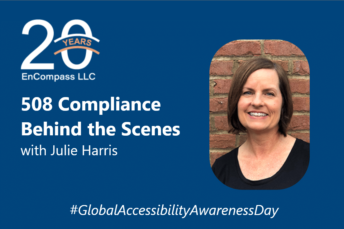 Global Accessibility Awareness Day: What Does 508 Compliance Look Like?