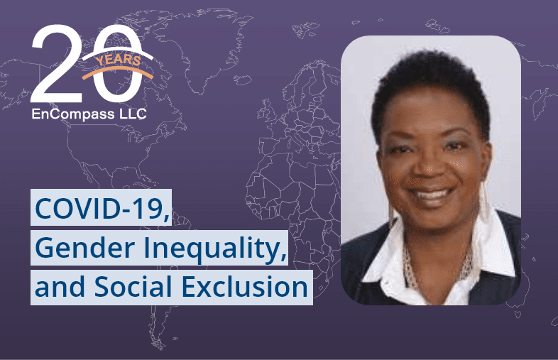 COVID-19, Gender Inequality, and Social Exclusion: Where I Enter