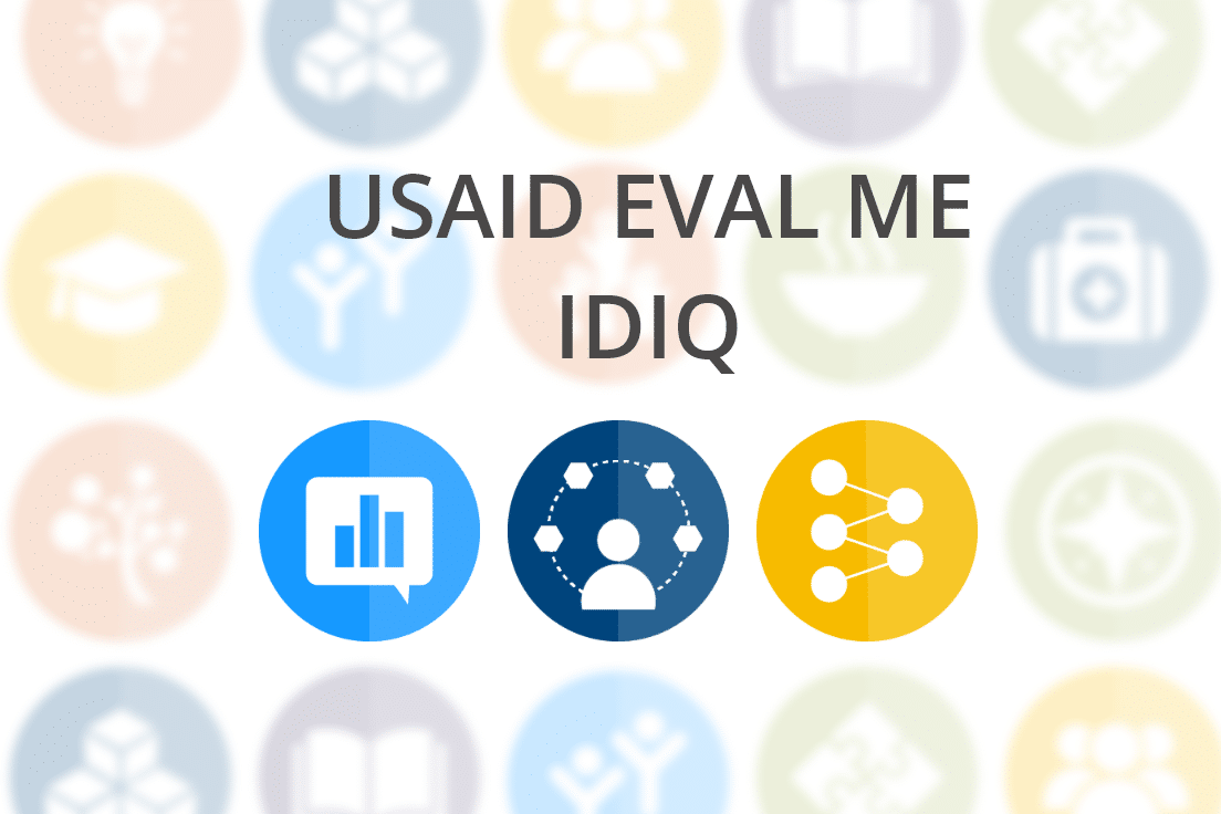 USAID Monitoring and Evaluation Services (EVAL-ME) IDIQ
