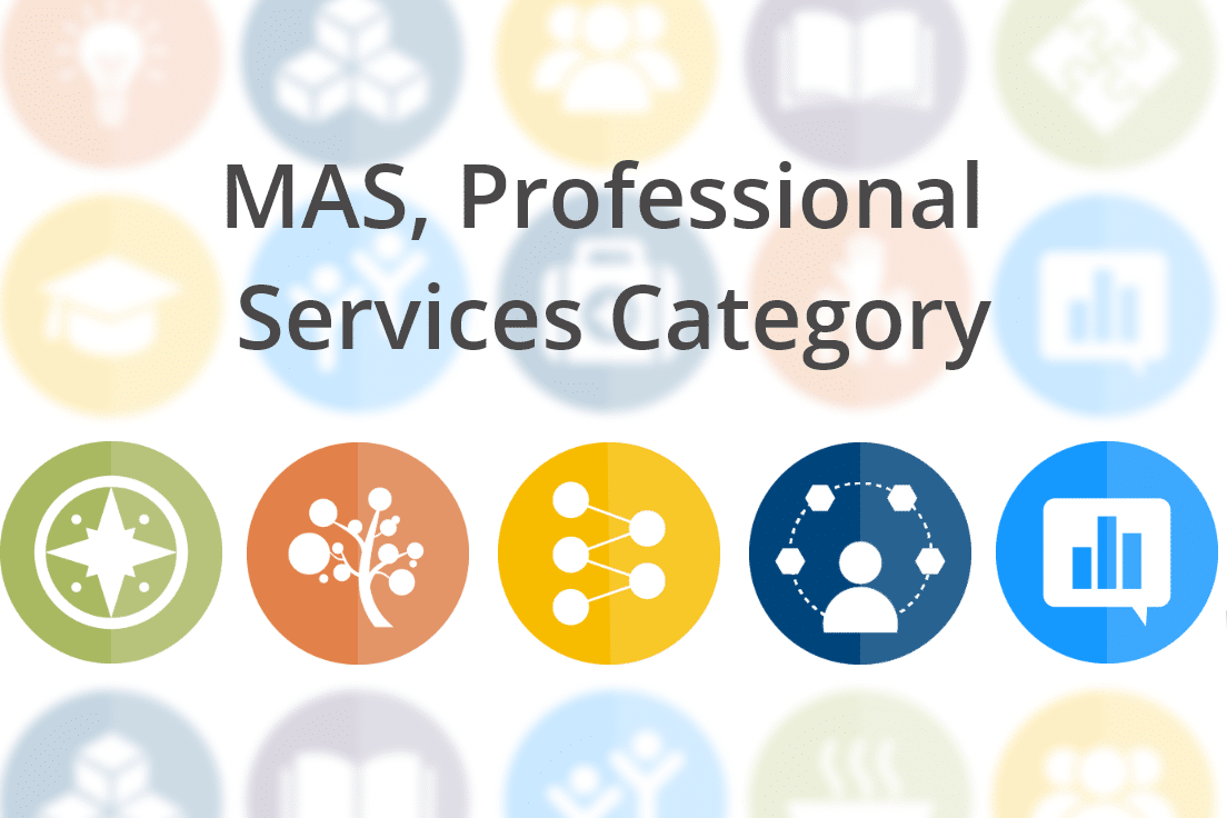 Multiple Award Schedule, Professional Services Category (MAS-PSC)