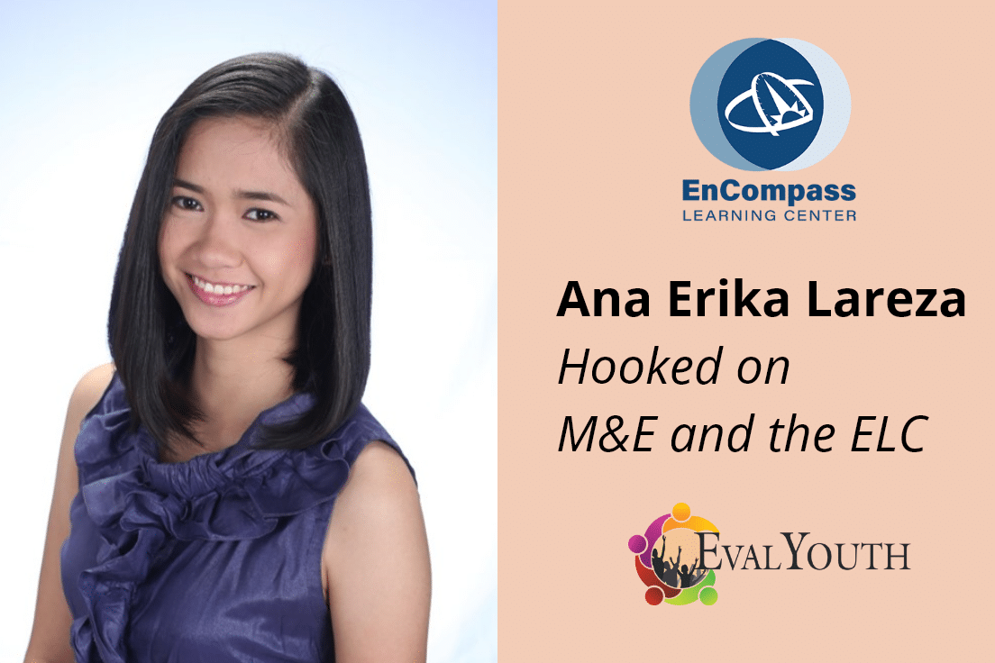 "EvalYouth Voices: How Ana Erika Lareza Got ""Hooked on M&E"" and the ELC"