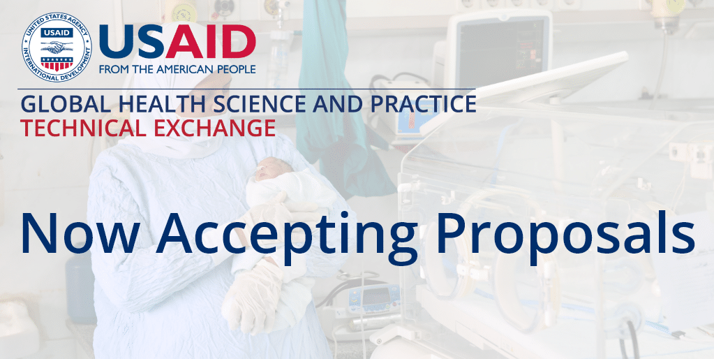Now Accepting Proposals for GHTechX: The Global Health Science and Practice Technical Exchange