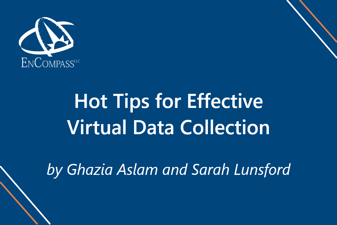 Hot Tips for Effective Virtual Data Collection