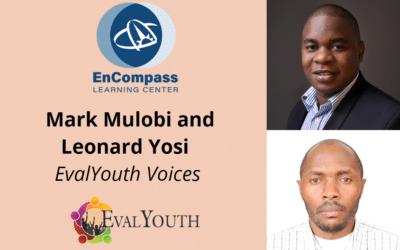 EvalYouth Voices: Spotlight on Mark Mulobi and Leonard Yosi