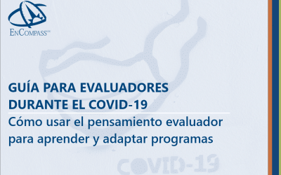 An Evaluator's Guide to COVID-19: Using Evaluative Thinking to Learn and Adapt Programs (Spanish)