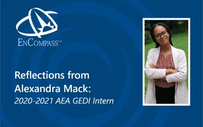 Reflections from Alexandra Mack: 2020-2021 AEA GEDI Intern