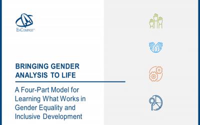 New Resource: Bringing Gender Analysis to Life
